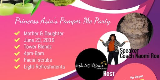 Princess Asia's Pamper Me Party
