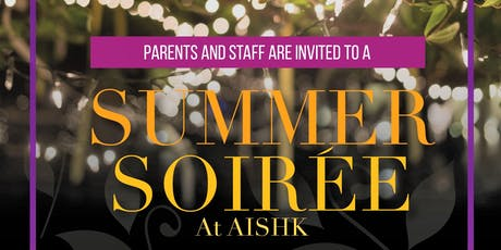 A Summer Soiree at AISHK tickets