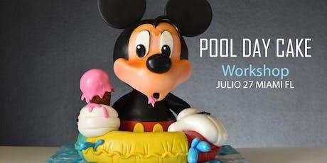 Pool day cake (Clase intensiva de pastelería) tickets