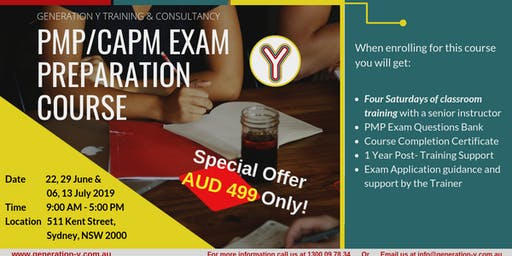 PMP/CAPM Exam Preparation Course | Classroom | Saturdays Batch
