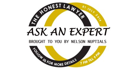 Ask an Expert Evening - a great wedding planning event tickets