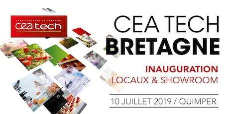 Inauguration des locaux et du showroom de CEA Tech Bretagne billets