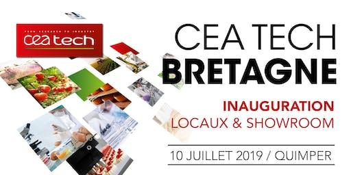 Inauguration des locaux et du showroom de CEA Tech Bretagne