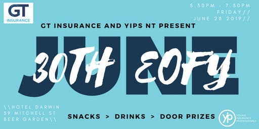 GT Insurance & YIPs NT Present: Welcome FY20 Networking Event