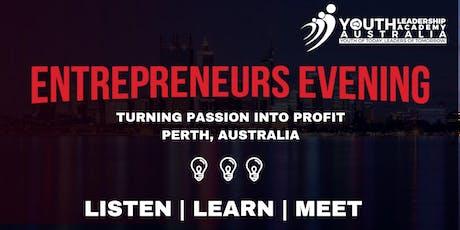 Entrepreneurs Evening - Melbourne tickets