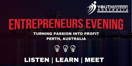 Entrepreneurs Evening - Sydney tickets