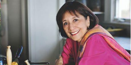 Madhur Jaffrey Book Talk tickets