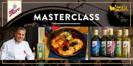 Moro Masterclass at Simply Spanish  tickets