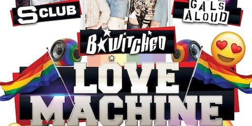 LOVE MACHINE - Gay Pride Party  - HolyTEvents Vs Poptastic