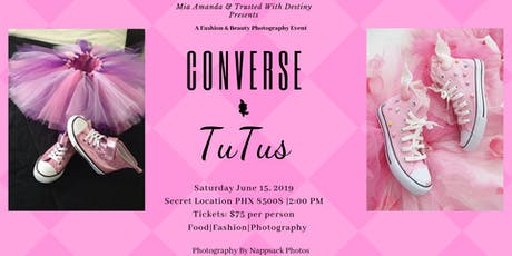 Tutus & Converse Photo Party tickets