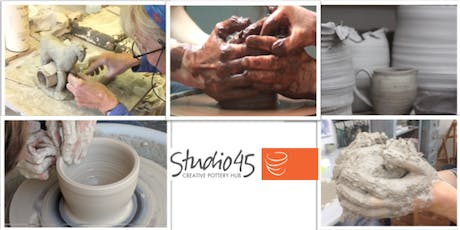 Ceramics - Throwing & Sculpting - Beginners Course tickets