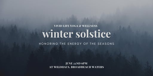 Winter Solstice ~ Honoring the Energy of the Seasons