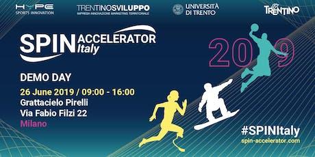 Demo Day - SPIN Accelerator Italy 2019  biglietti