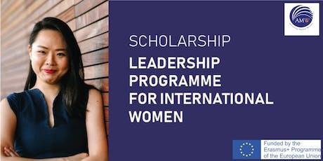 Leadership Programme for International Women tickets
