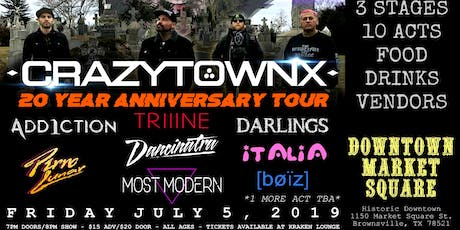 Crazy Town LIVE @ Downtown Market Square tickets