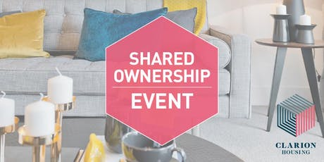 Clarion Housing Oxfordshire Shared Ownership Event tickets
