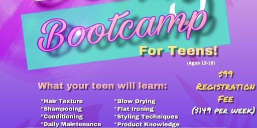 Summer Beauty Bootcamp (for teens!)