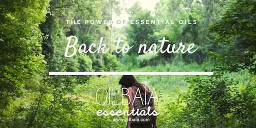 Back to nature! Introductie tot essentiële oliën