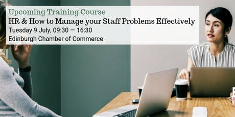 HR & How to Manage your Staff Problems Effectively tickets