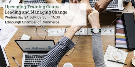 Leading and Managing Change tickets