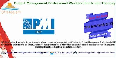 PMP weekend Bootcamp in Fremont-June 15,16,22,23,2019