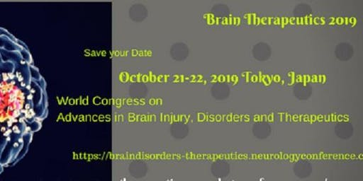 World Congress on Advances in Brain Injury, Disorders and Therapeutics