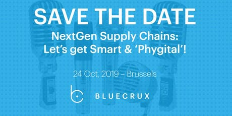 SAVE THE DATE: NextGen Supply Chains: Let's get Smart & Phygital tickets