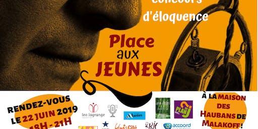 """Concours d'éloquence """"Place aux jeunes"""" à Malakoff"""