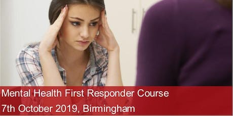 Mental Health First Responder Course - Birmingham tickets