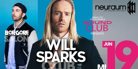 WILL SPARKS @ Club - BORGORE @ Salon Tickets