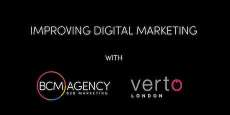 Improving Digital Marketing tickets
