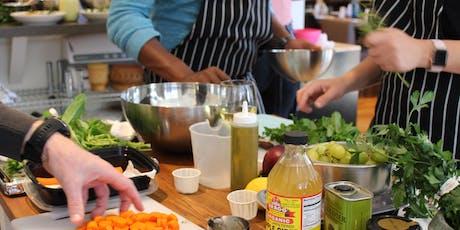 Pop-up Mediterranean Fusion Cooking Class/ Workshop tickets