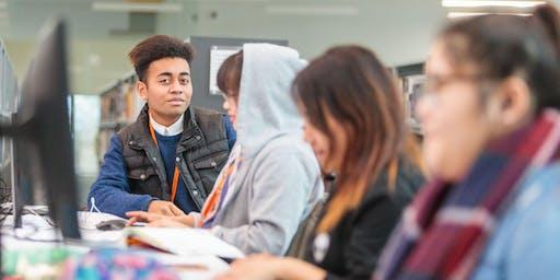 Aldershot School Leavers Open Event