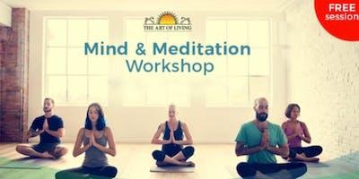 Free Mind & Meditation workshop - Let's celebrate the Yoga Day!