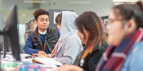 Aldershot School Leavers Open Event (Construction Courses