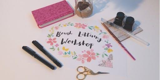 Modern Brush Lettering Beginners Workshop