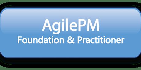Agile Project Management Foundation & Practitioner (AgilePM®) 5 Days Training in Washington, DC tickets
