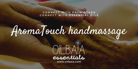 AromaTouch handmassage techniek workshop tickets