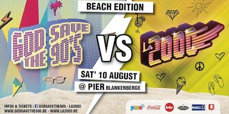 God Save the 90's VS La 2000 - Vol. 2 Beach Edition tickets