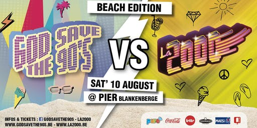 God Save the 90's VS La 2000 - Vol. 2 Beach Edition