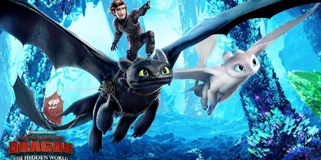 How to Train Your Dragon - The Hidden World (+ Pizza!) tickets