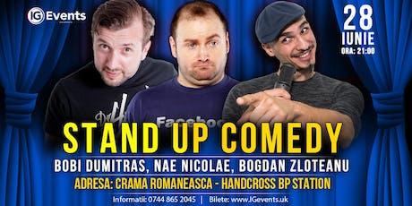 Stand Up Crama Romaneasca - Bobi Dumitras, Nae Nicolae si Bogdan Zloteanu tickets