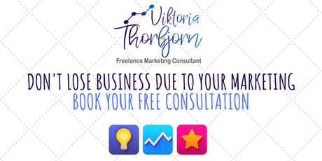Free Business & Marketing Consultation In Nottingham For SMEs tickets