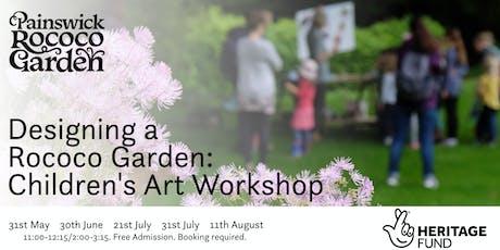 Designing a Rococo Garden: Children's Art Workshop tickets
