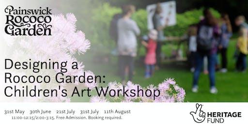 Designing a Rococo Garden: Children's Art Workshop