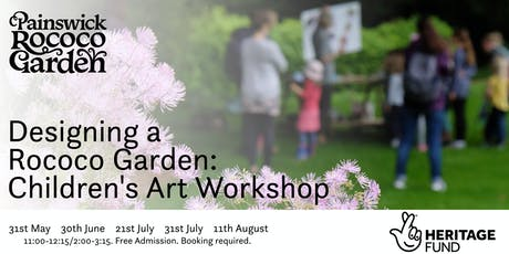 Designing a Rococo Garden: Children's Art Workshop tickets