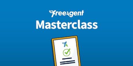 FreeAgent Masterclass - Belfast  tickets