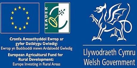 Digwyddiad Rhwydweithio LEADER - Marchnata a Chyfathrebu o fewn Cymunedau / LEADER Network - Marketing and Communications within Communities tickets