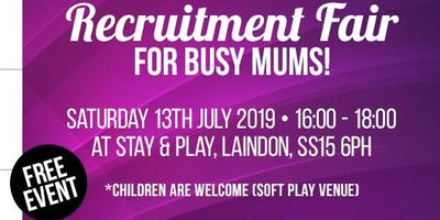 Recruitment Fair for Busy Mums