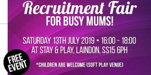 Recruitment Fair for Busy Mums